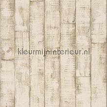 Robuuste planken behang Rasch behang