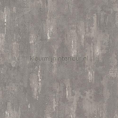 Ruwe industriele wand grijs 306945 behang around the world for Industrieel behang