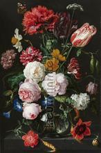 Stilleven met bloemen in een glazen vaas fotobehang BN Wallcoverings Art 30728