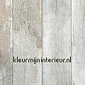 Oud hout grijs licht blauw papel de parede Noordwand Assorti 68615