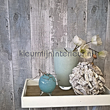Oud hout grijs-turquoise wallcovering Noordwand wallpaper Top 15