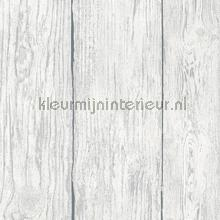 Witte hout stroken papel de parede Noordwand Assorti 90114