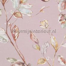 Handgeschilderde bloemen papier peint BN Wallcoverings Atelier 219450