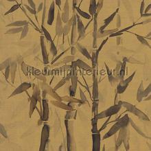 Handgeschilderde bamboe papier peint BN Wallcoverings Atelier 219461