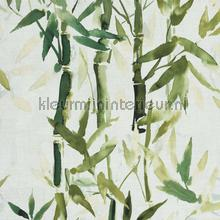 Handgeschilderde bamboe behang BN Wallcoverings romantisch modern