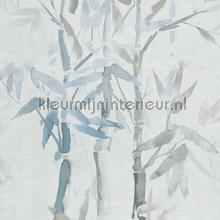 Handgeschilderde bamboe papier peint BN Wallcoverings Atelier 219463