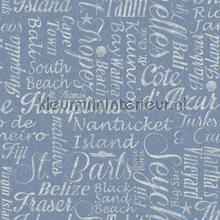 Luxury beaches blue papier peint Eijffinger Atlantic 343017