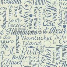 Luxury beaches off white papier peint Eijffinger Atlantic 343018