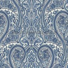 Paisley blue papier peint Eijffinger Atlantic 343077