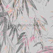 Kras en stootvaste bamboo print carta da parati Arte Bali 16530