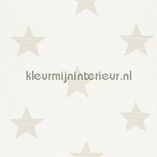 Medium stars licht grijsbeige behang Rasch Bambino XVII 245608