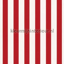 Streep rood wit papel de parede Rasch Bambino XVII 246032