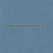 Uni blauw papel de parede Rasch Bambino XVII 247480