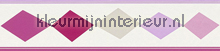 Ruitenrand roze papel de parede Rasch Bambino XVII 247909