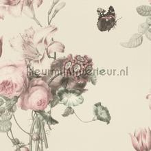 Boeket met vlinder behang Rasch Barbara Home 527636