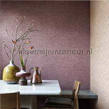 Woven textile colormix oudrood behang BN Wallcoverings Bazar 219421
