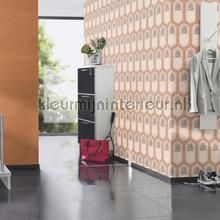 Ananas patroon papel de parede Rasch BB Home Passion 862119