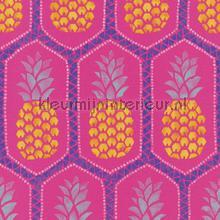 Ananas patroon papel pintado Rasch adolescente