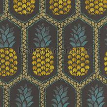 Ananas patroon papel de parede Rasch BB Home Passion 862140