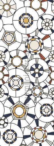 Art Nouveau fotobehang BEEP82299109 Interieurvoorbeelden fotobehang Casadeco