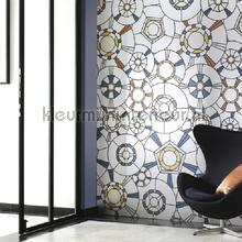 Art Nouveau fotobehang Casadeco Modern Abstract