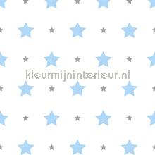 Sterrenpatroon behang Rasch Bimbaloo 2 330129