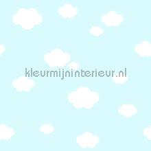 Witte wolken behang Rasch Bimbaloo 2 330235