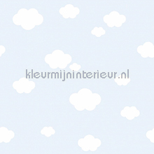 Witte wolken behang Rasch Bimbaloo 2 330259