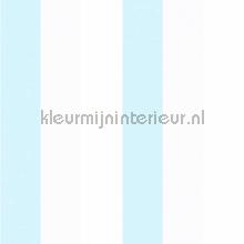 3 kleuren streep behang blauw Rasch Bimbaloo 2 330273