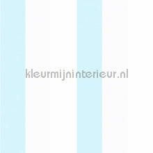 3 kleuren streep behang blauw papel de parede Rasch Bimbaloo 2 330273