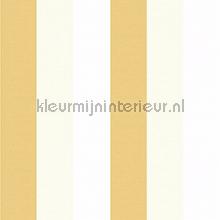 3 kleuren streep behang maisgeel Rasch Bimbaloo 2 330303