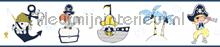 Kinder piraten rand wallcovering Rasch Bimbaloo 2 330471