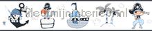 Kinder piraten rand behang Rasch Bimbaloo 2 330488