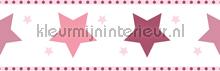 Kinder sterren rand papel de parede Rasch Bimbaloo 2 330501