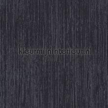 Birch midnight black wallcovering DWC Veloute Flock