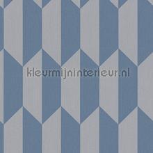 Verticale trapezia grijsblauw tapeten AS Creation Bjorn 349002