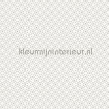 Geo ritme zilver wit tapeten AS Creation Bjorn 351173