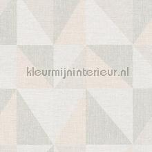 Scandi ruit in linenlook tapeten AS Creation Bjorn 351812