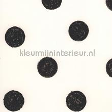 Licht roze behang met zwarte stippen tapet Eijffinger Black and Light 356061