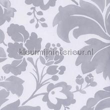 Aquarel ornament grijs tapet Eijffinger Black and Light 356100