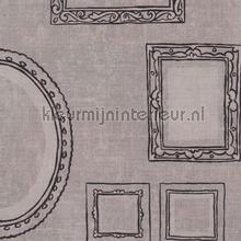 Schilderijlijstjes behang tapet Eijffinger Black and Light 356111