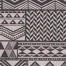 Etnic grijs zwart tapet Eijffinger Black and Light 356122