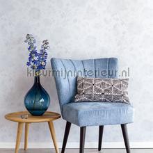 Blend in flowers pastel blauw behang Eijffinger romantisch modern