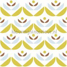 Cookies yellow behang Lavmi Vintage Oud behang