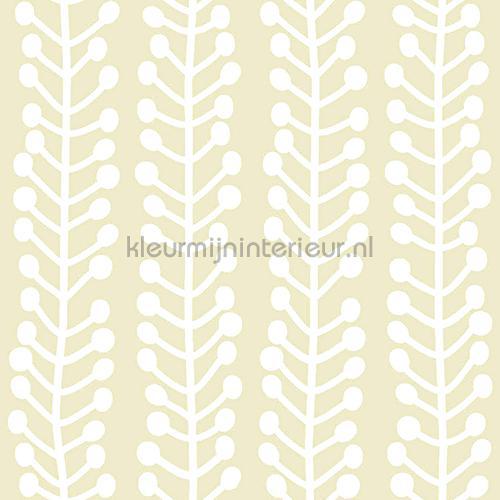Herbs beige behang 142301 Blue Book Lavmi