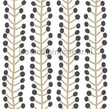 Herbs white behang Lavmi Blue Book 142303
