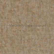 Ruig gemeleerd donkerbeige tapeten AS Creation Borneo 322617