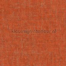 Ruig gemeleerd oranje brons tapeten AS Creation Borneo 322621