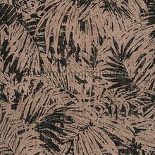Palmtakken zwart brons tapeten AS Creation Borneo 322631