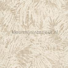 Palmtakken beige creme tapeten AS Creation Borneo 322632